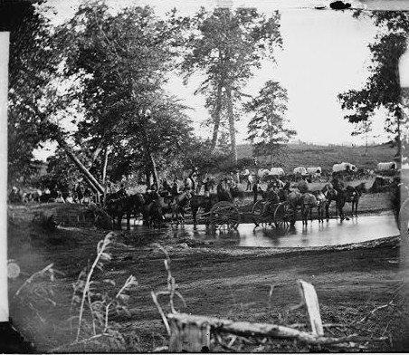 Federal Artillery, August 9, 1862.