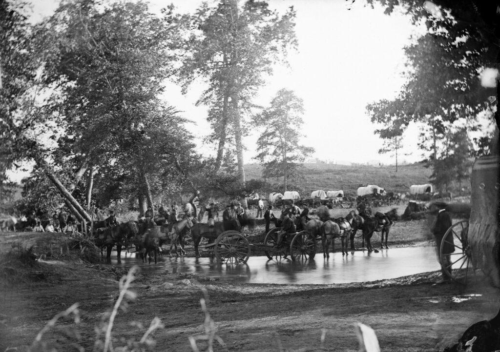 Timothy O'Sullivan photo, Federal Artillery