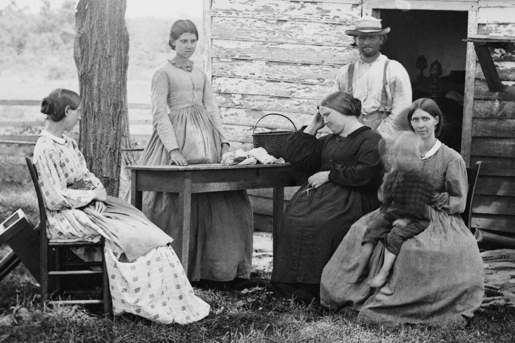 "Timothy O'Sullivan Photograph, ""Family Group"""